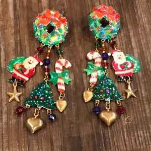 Christmas (festive) earrings
